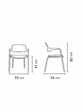 Nazari accent chairs with handle Click model2 268x358 - صندلی دسته دار نظری مدل کلیک