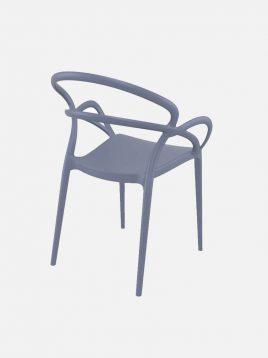 Nazari accent chairs with handle mila model2 268x358 - صندلی  دسته دارصنایع نظری مدل میلا