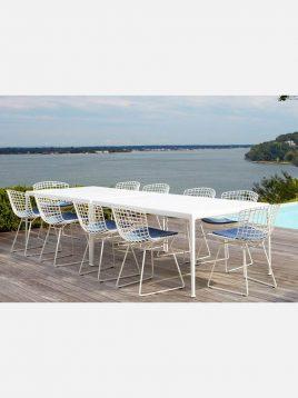 Nazari accent chairs without handle Bertoia model2 268x358 - صندلی بدون دسته فلزی نظری مدل برتویا