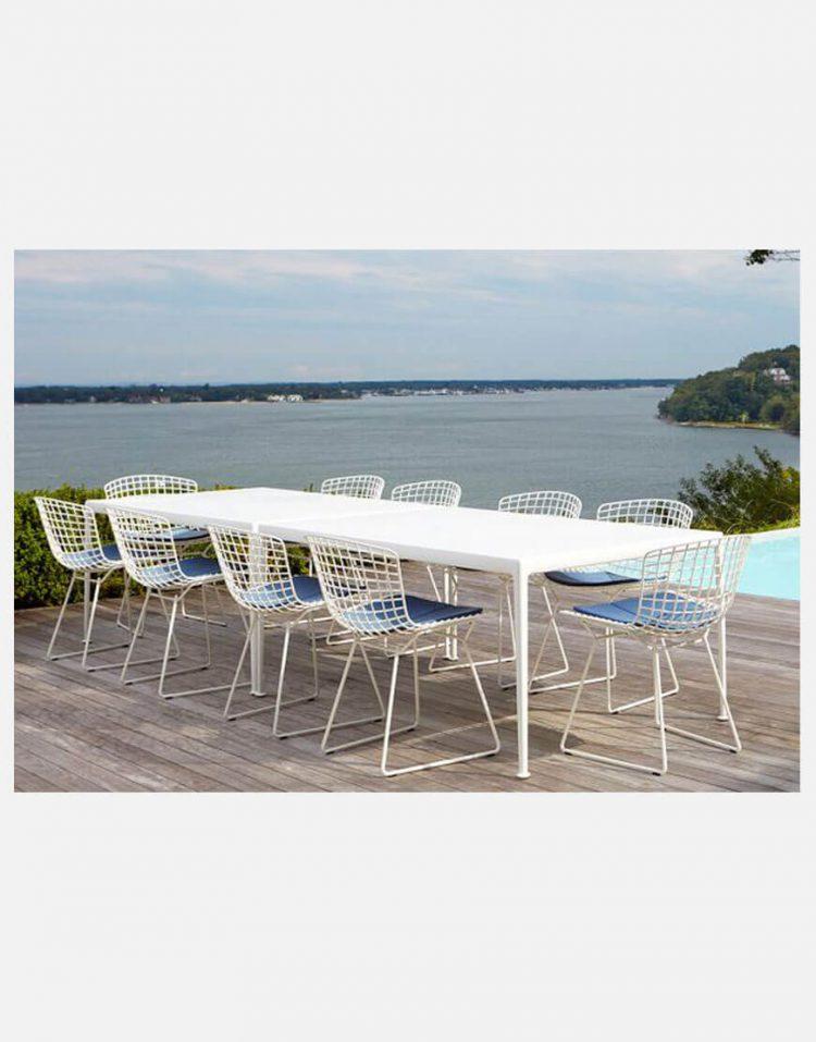 صندلی رستورانی فلزی بدون دسته نظری مدل برتویا