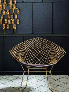 صندلی دسته دار فلزی مدل دایموند