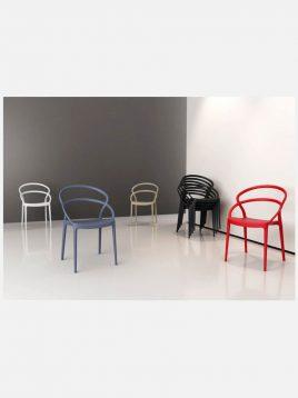 صندلی بدون دسته صنایع نظری مدل میلا