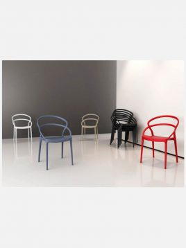 Nazari accent chairs without handle piya model2 268x358 - صندلی  بدون دسته صنایع نظری مدل میلا