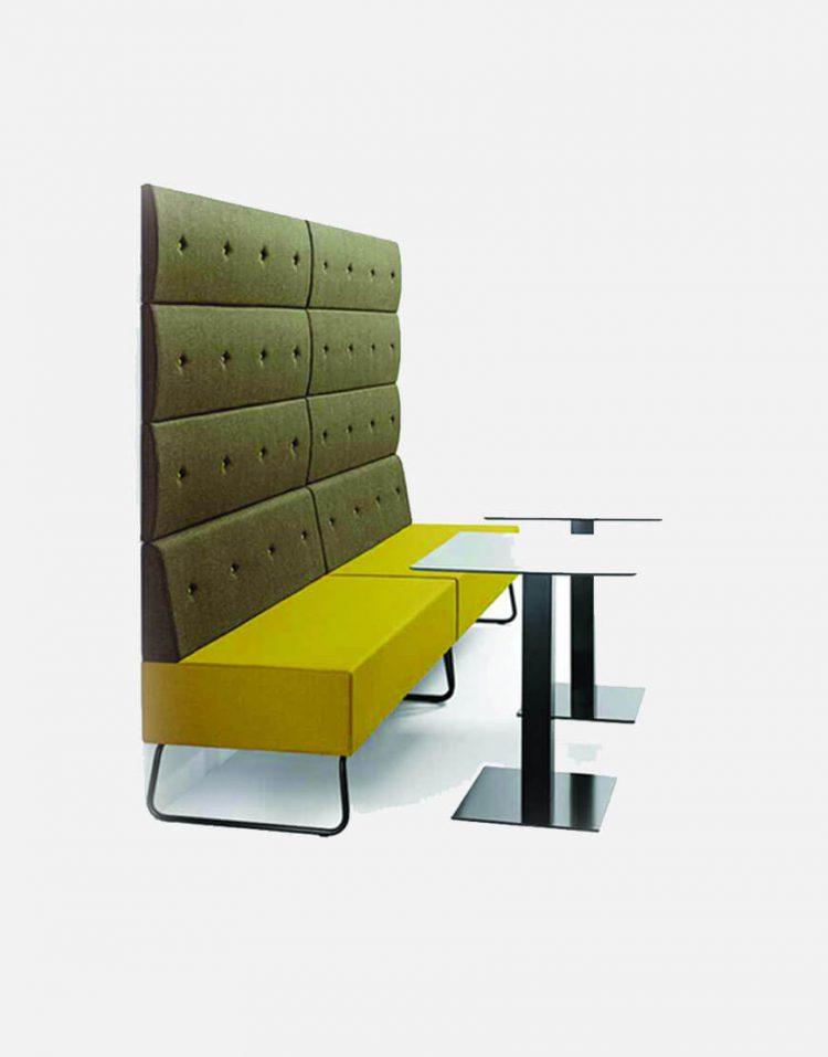 مبل رستورانی پایه فلزی صنایع نظری مدل پونتو