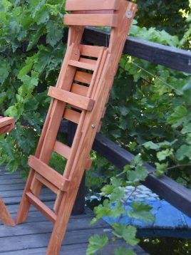 aron single wooden chair model nozhen 2 268x358 - صندلی چوبی تاشو مدل نوژن