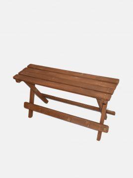 نیمکت دو نفره چوبی مدل بنج
