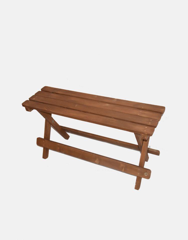 نیمکت دو نفره چوبی مدل بنچ