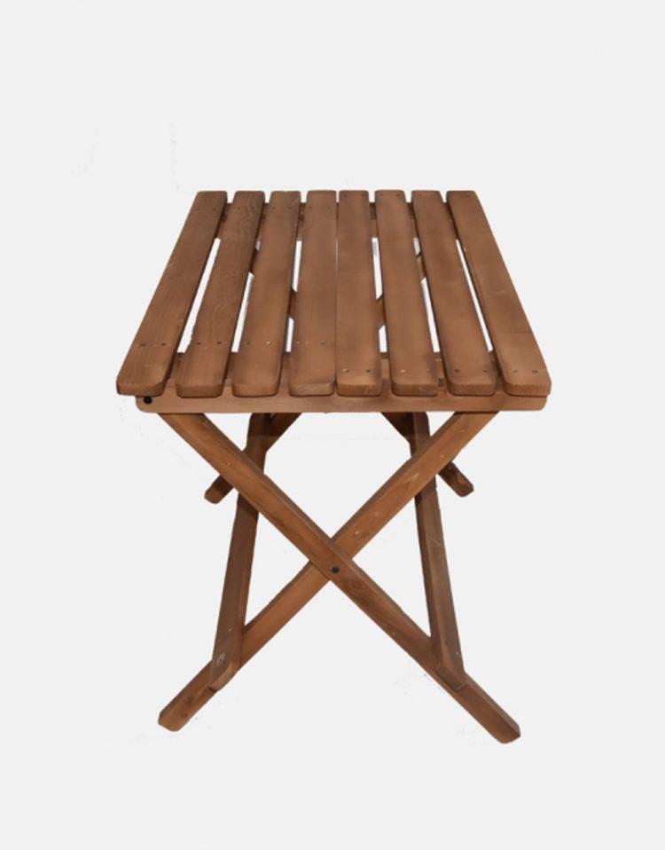 میز نهارخوری چوبی مدل بنچ