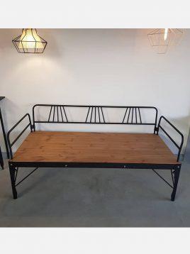 nahalsan Metal frame bench model tx 2 268x358 - تخت فلزی و چوبی مدل تی ایکس