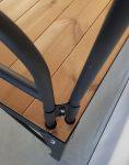 nahalsan Metal frame bench model tx 5 118x150 - تخت فلزی و چوبی مدل تی ایکس