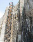 nahalsan Scaffolding stairs and metal shield 7 118x150 - پله داربستی فلزی نهالسان