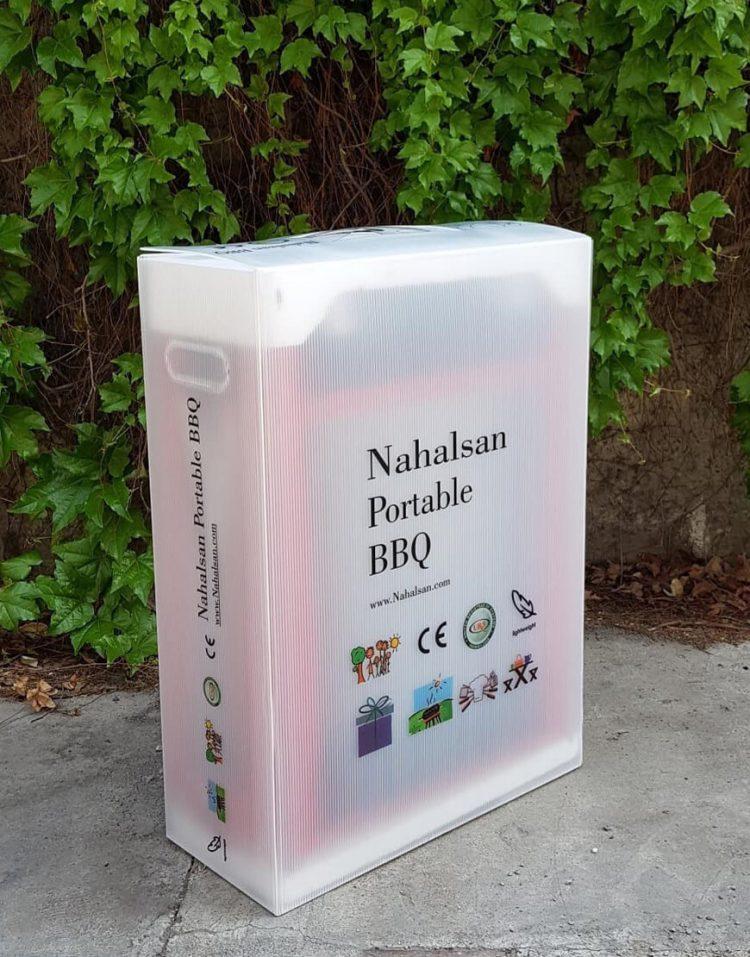 nahalsan folding steel coal bbq grill 9 750x957 - کباب پز زغالی تاشو نهالسان صادراتی