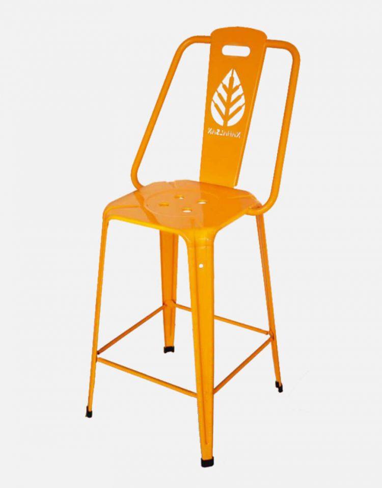 صندلی فلزی اپن نهالسان طرح برگ مدل نوید