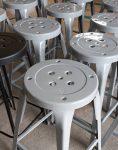 چهارپایه ساده فلزی بلند نهالسان