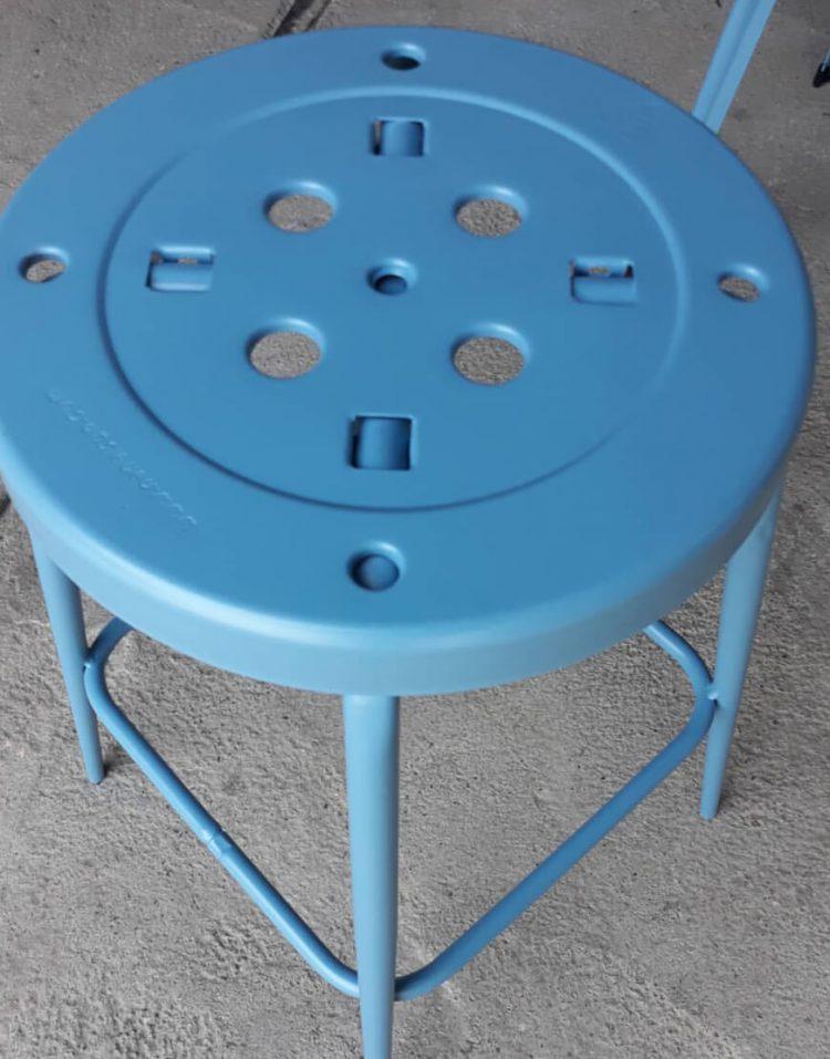 چهارپایه فلزی نهالسان مدل پلیکان ارتفاع ۵۰ سانتیمتر