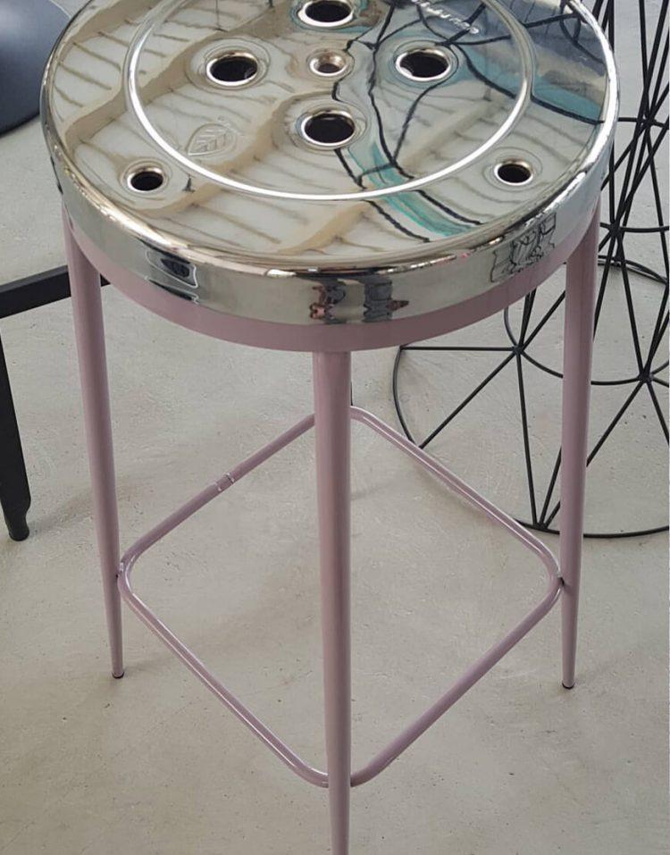 nahalsan metal Stool pelikan 70cm 4 750x957 - چهارپایه فلزی مدل پلیکان ارتفاع ۷۰ سانتیمتر