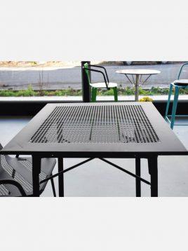 میز ساده فلزی نهالسان مدل پاراکس