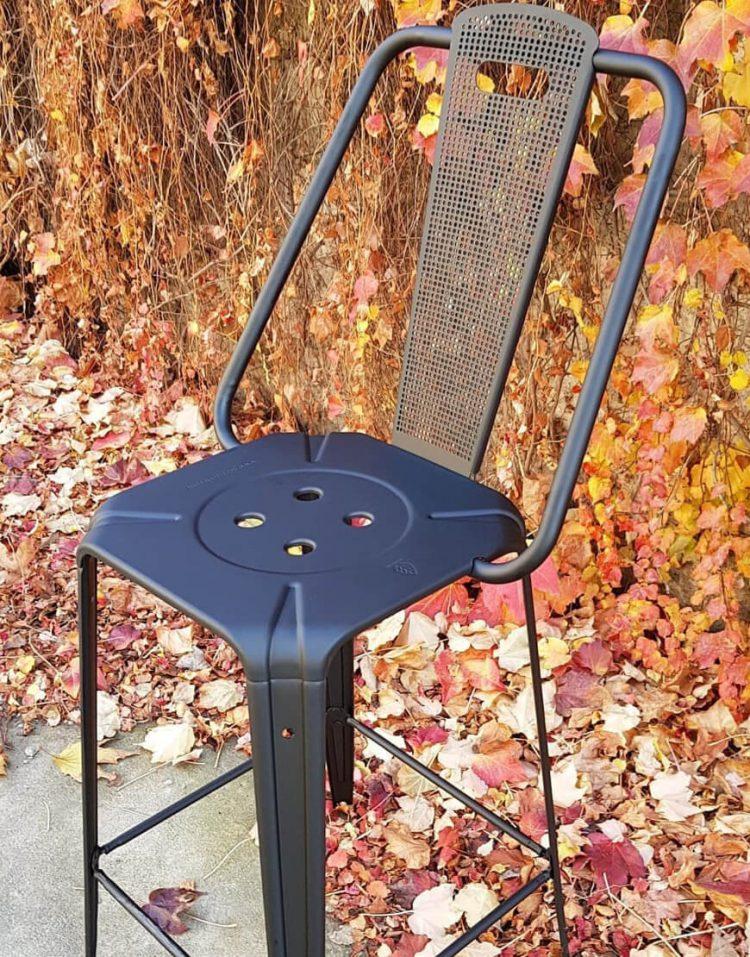 صندلی فلزی اپن نهالسان طرح پانچی مدل نوید