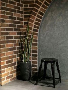 چهارپایه ساده فلزی کوتاه نهالسان