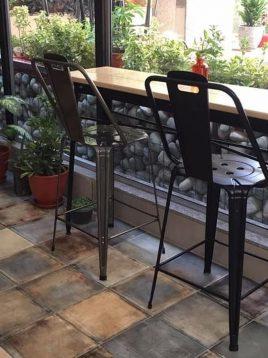 صندلی اپن ساده فلزی مدل نوید