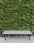 nahalsan triple metal bench 1 118x150 - نیمکت بدون پشتی فلزی سه نفره