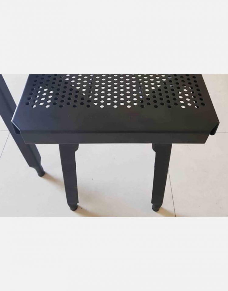 nahalsan triple metal bench 10 750x957 - نیمکت بدون پشتی فلزی سه نفره