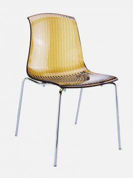 nazari accent chair Alegra model2 268x358 - صندلی تک نفره پلی کربنات نظری مدل آلگرا