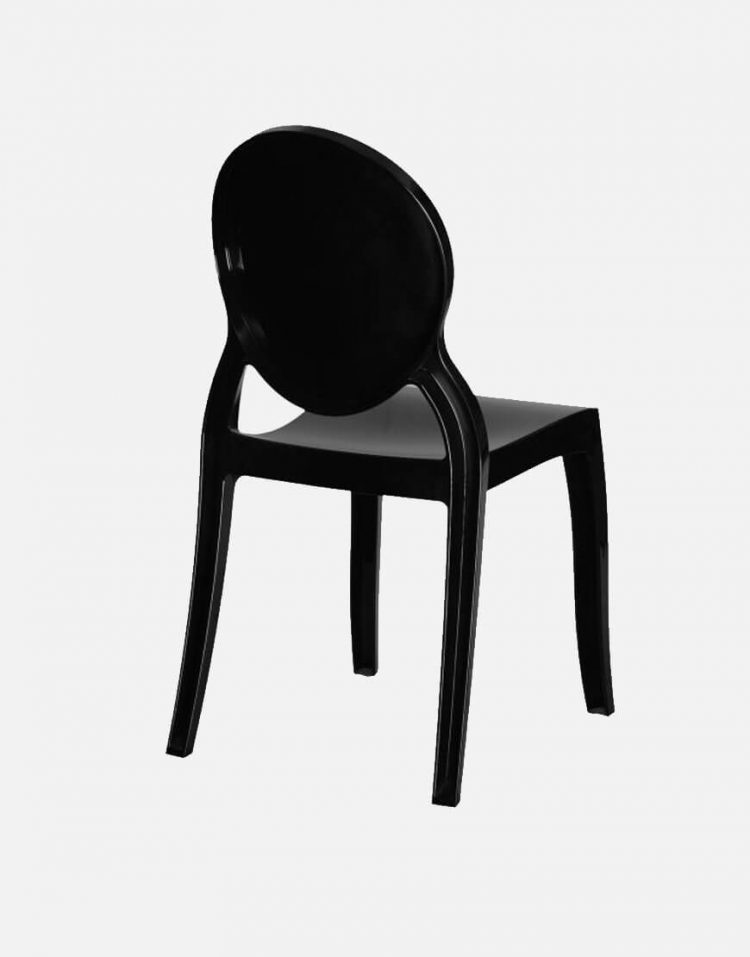 صندلی تک نفره پلی کربنات نظری مدل الیزابت