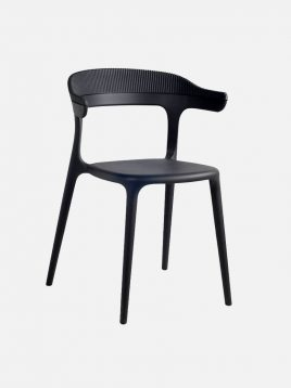 nazari accent chair Luna model2 268x358 - صندلی پشت پلی کربنات صنایع نظری مدل لونا