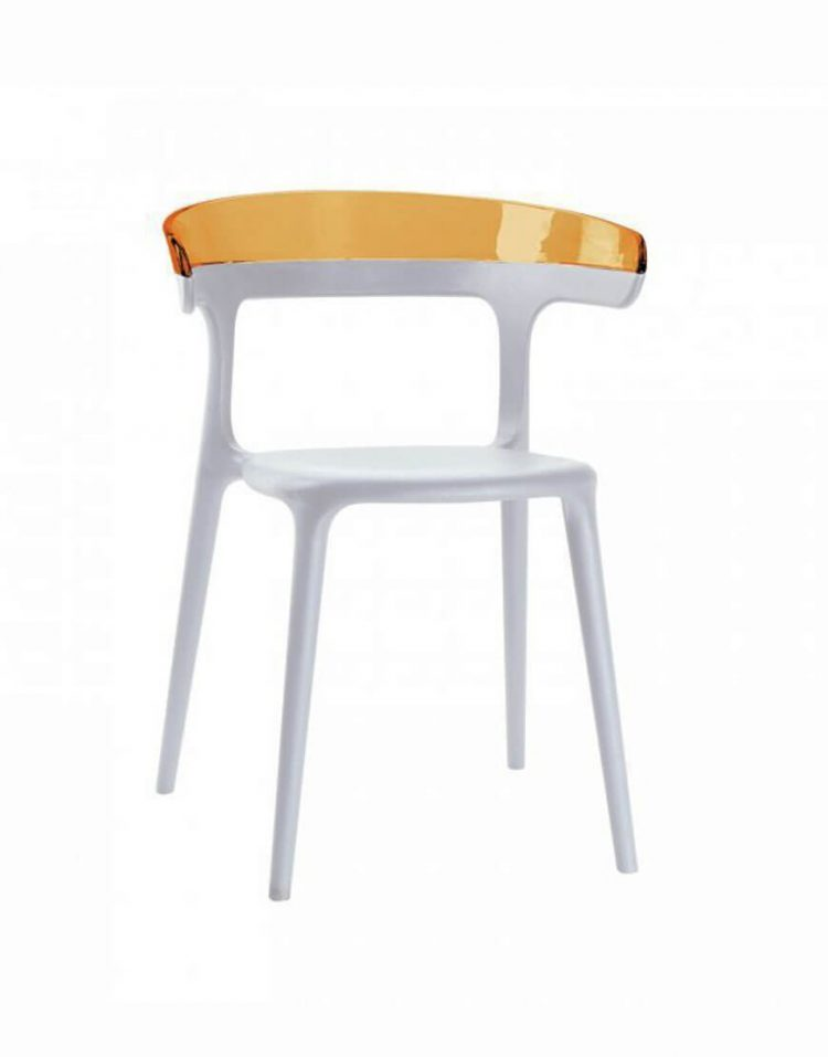 صندلی پلی کربنات صنایع نظری مدل لونا