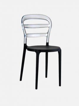 nazari accent chair Miss bibi model2 268x358 - صندلی پلی کربنات صنایع نظری مدل میس بی بی