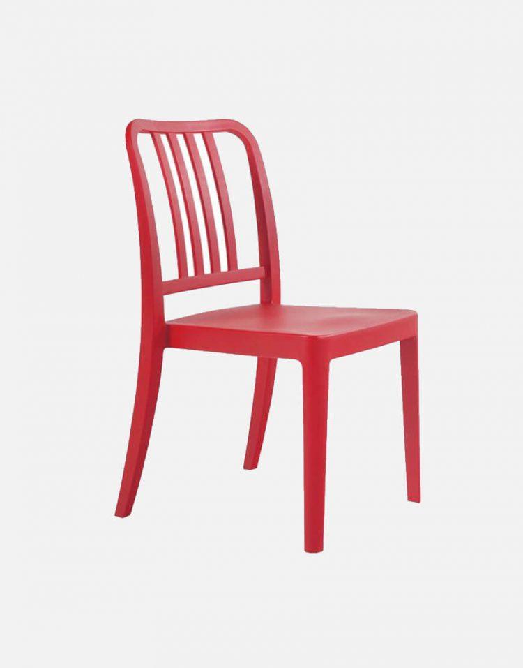 صندلی رستوران پلاستیکی تک نفره صنایع نظری مدل واریا