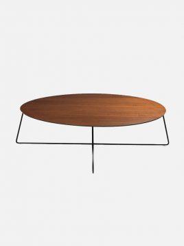 nazari coffee tables Fly Table model2 268x358 - میز جلو مبلی صنایع نظری مدل گرد فلای