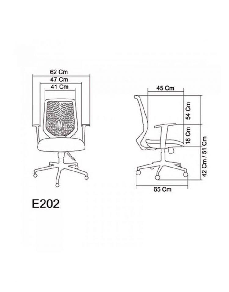 صندلی کارشناسی صنایع نظری مدل وینر E202