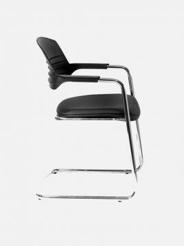 nazari furniture conference chair Visitor model2 268x358 - صندلی کنفرانسی نظری مدل ویزیتور