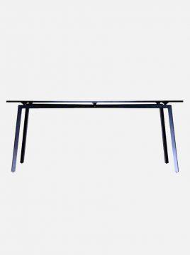 nazari kitchen dining tables Folding base Fast model 268x358 - میز مستطیلی صنایع نظری مدل فست