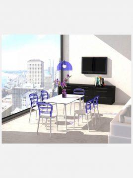 nazari kitchen dining tables Maya model rec1 268x358 - میز مستطیلی صنایع نظری مدل مایا
