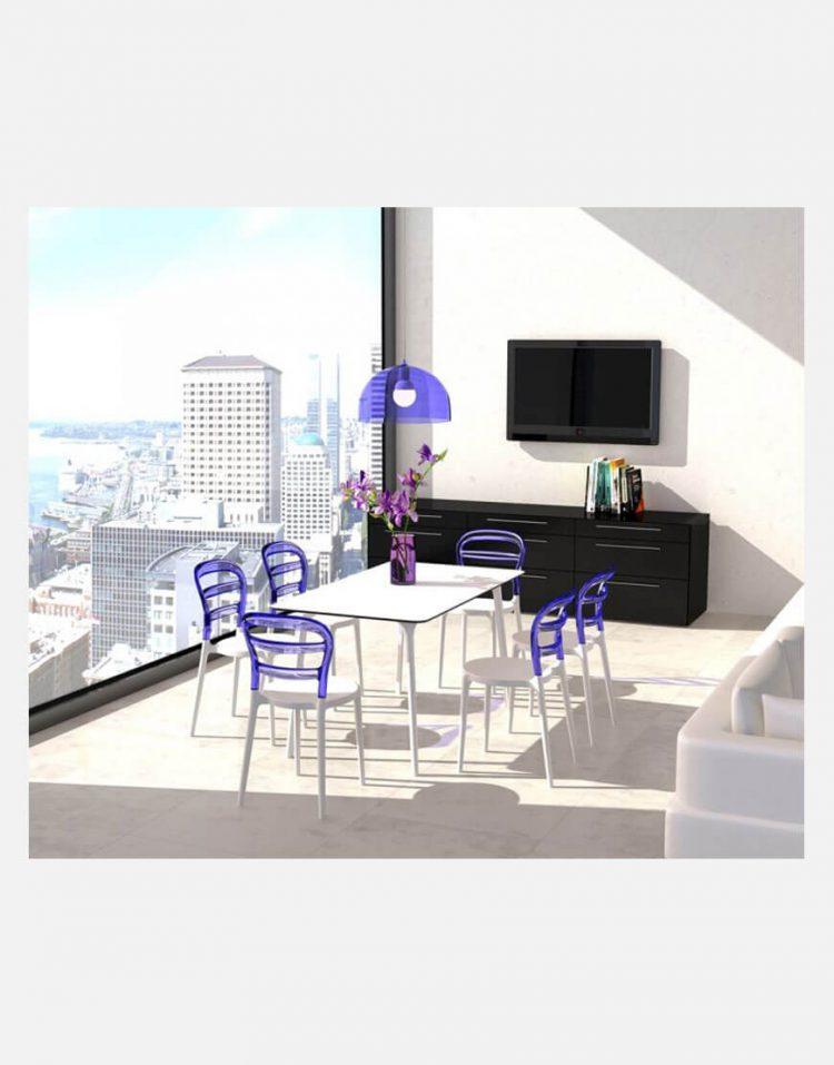 میز مستطیلی صنایع نظری مدل مایا