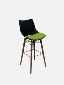 nazari tall bar stools Shell model1 268x358 - صندلی کانتر پایه بلند نظری مدل شل