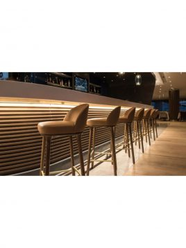 nazari tall bar stools Torino I model2 268x358 - صندلی کانتر نظری مدل تورینو یک