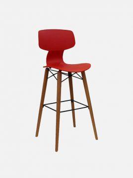 nazari tall bar stools Yugo model1 268x358 - صندلی کانتر نظری مدل یوگو پایه چوبی