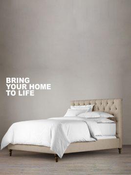 tolica-Textile-sack-classic-bed-model-larisa-1