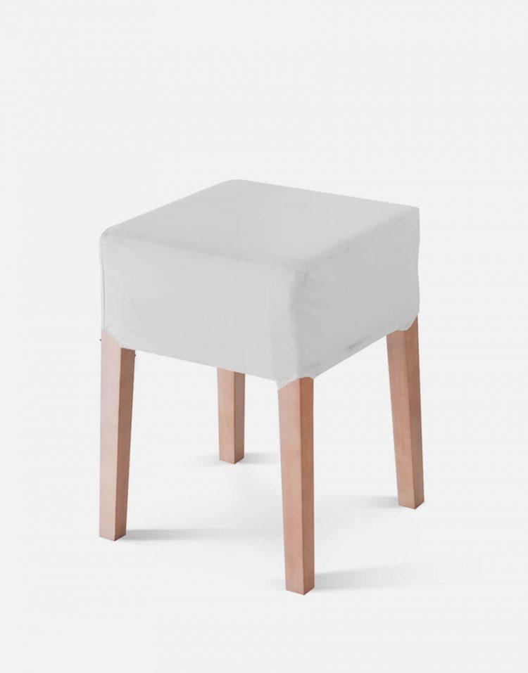 صندلی میز آرایشی پایه چوبی تولیکا مدل نیلز