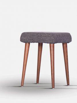 صندلی میز آرایشی چوب راش تولیکا مدل کیا