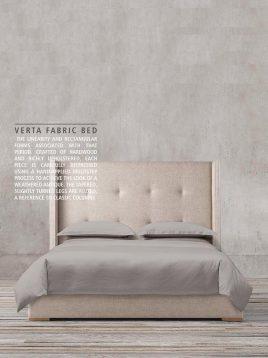 تخت کلاسیک تولیکا چوب راش مدل ورتا
