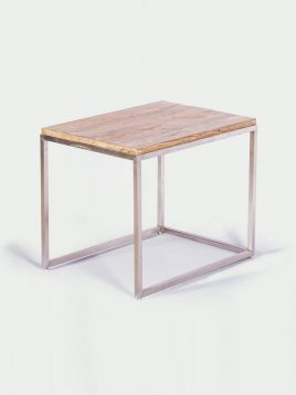 tolica modern cube small coffee table model ronika 1 268x358 - میز کنار مبلی مدرن تولیکا مدل رونیکا