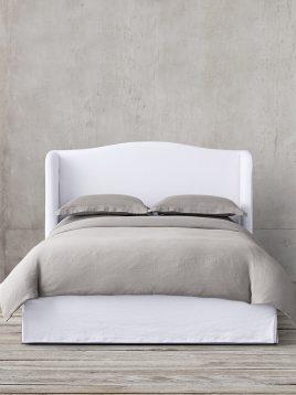 tolica simple white bed model anet 2 268x358 - تخت تولیکا سفید مدل آنت