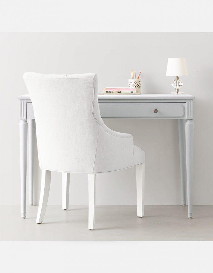 میز آرایش ساده سفید تولیکا مدل لاریسا