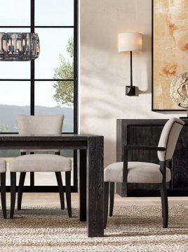 میز ناهارخوری چوبی تولیکا مدل رونیکا