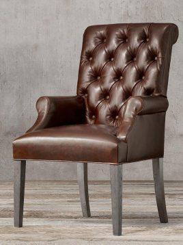 صندلی ناهارخوری پایه چوبی تولیکا مدل لاریسا
